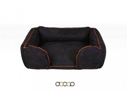 132 1 pc010 pelechy pelisky dog bed dooop lagoon xtrem cerna pro psa 80x60 01