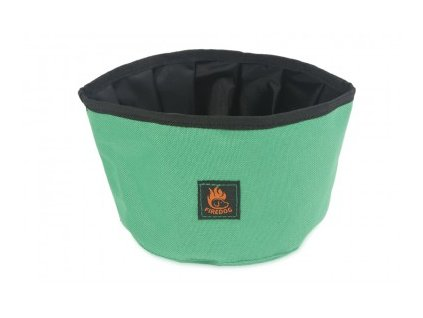 firedog travel bowl green 33857