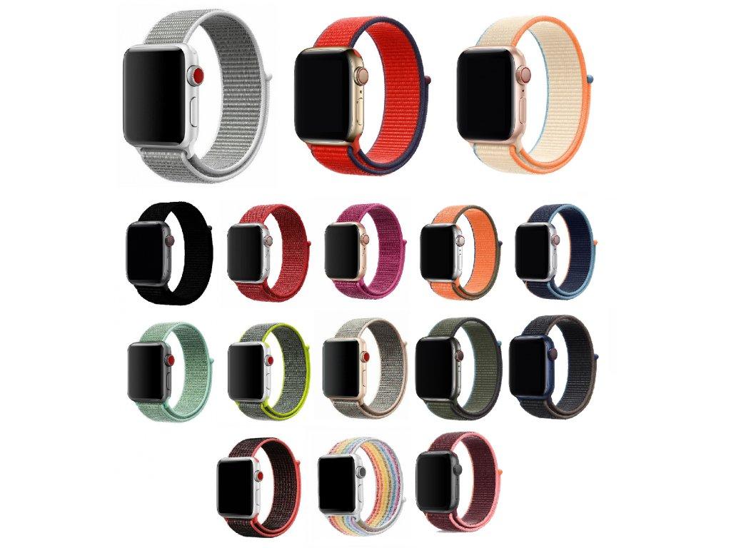 Nylonový náhradní řemínek pro Apple Watch 42mm/44mm