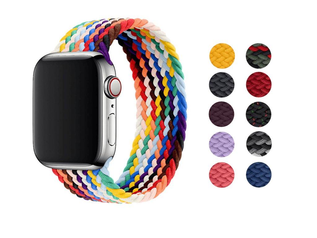 Pletený navlékací řemínek pro Apple Watch 38mm/40mm