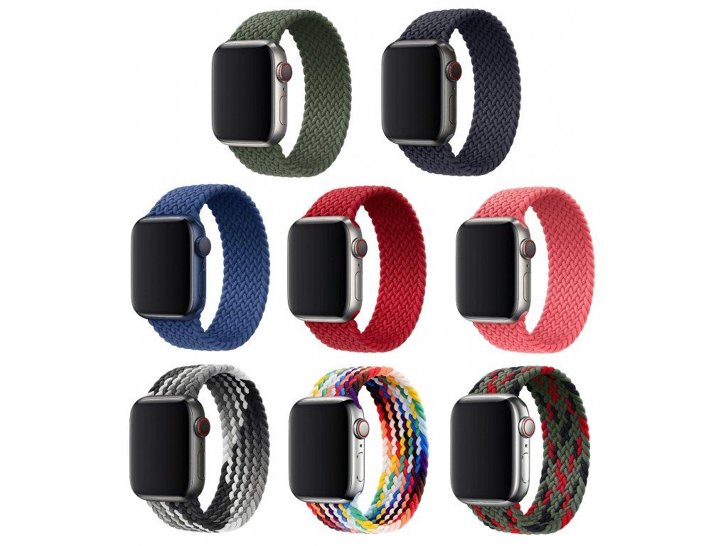 Pletený navlékací řemínek pro Apple Watch 42mm/44mm
