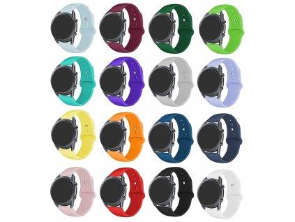 Základní silikonový náhradní řemínek pro chytré hodinky 22mm společné