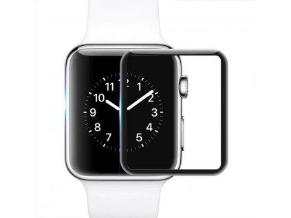 Ochranné 3D tvrzené sklo pro Apple Watch 38/40/42/44mm - 2ks