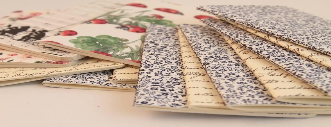 Zápisníky a sešity