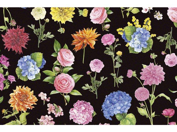 1535 Nero fiorito T