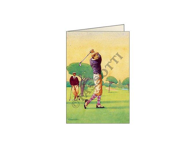 Blahopřání Golfista