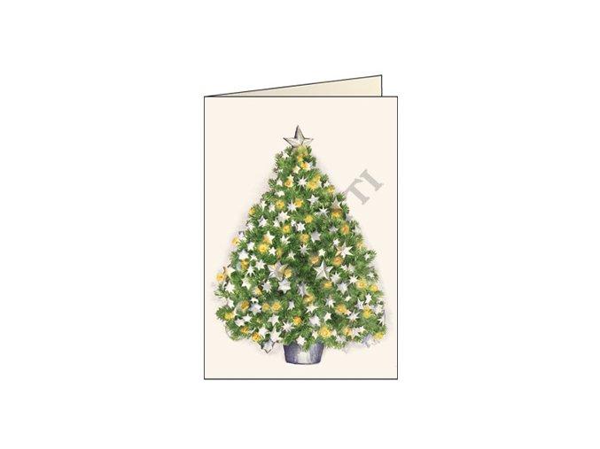 Blahopřání Vánoční strom