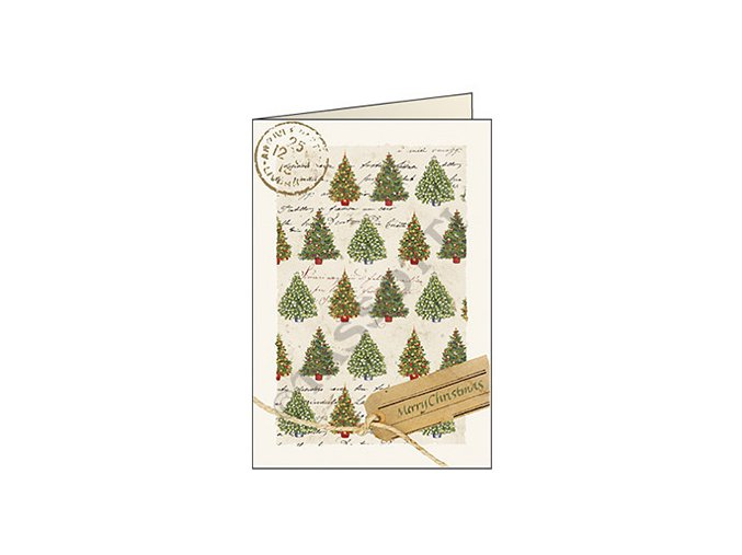 Blahopřání Vánoční stromky