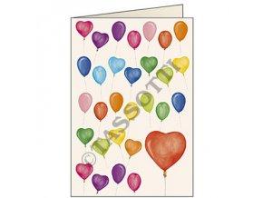 Blahopřání Balónky