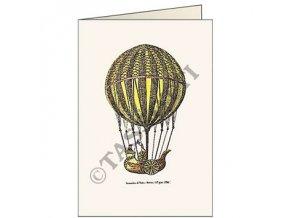 Blahopřání Vzdušný balón