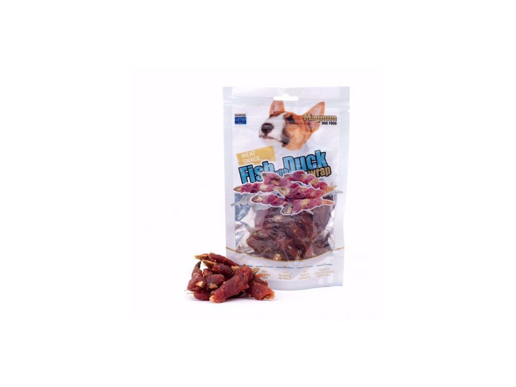 61278 magnum fish with duck wrap 250 g