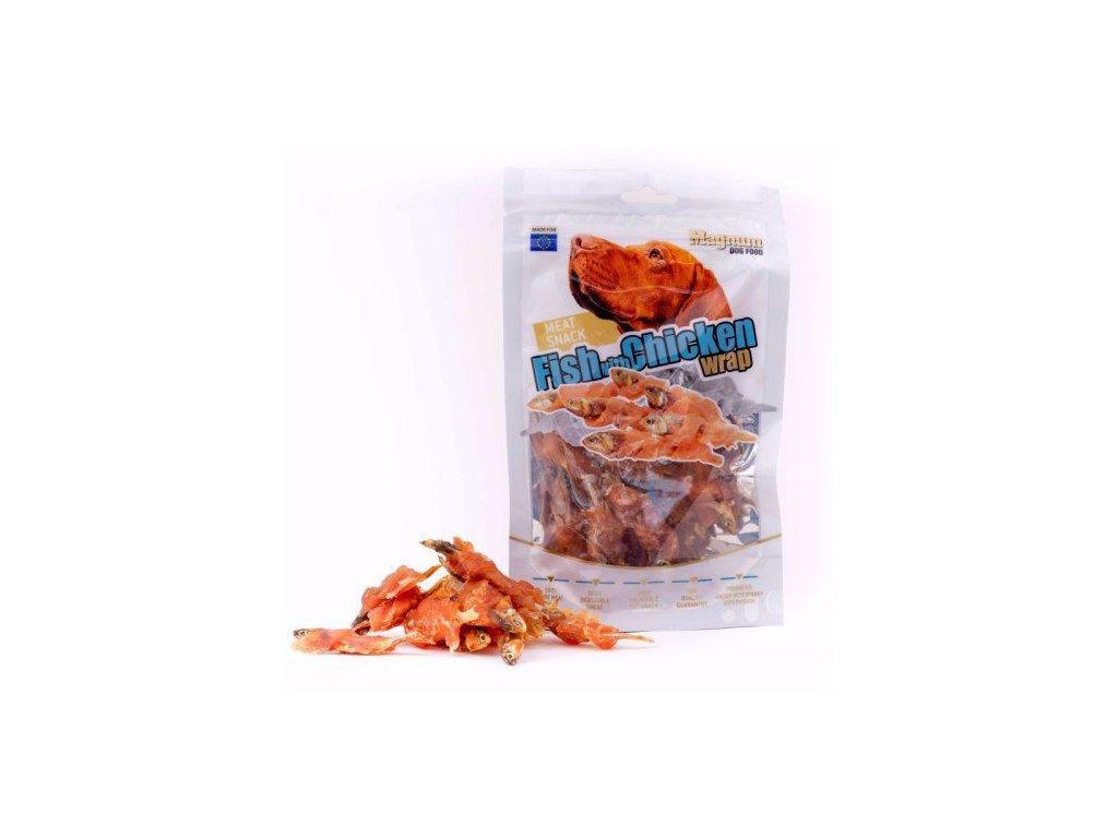62571 magnum fish with chicken wrap 80g