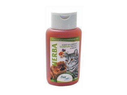 14337 sampon bea herba bylinkovy pro psy a kocky 220ml