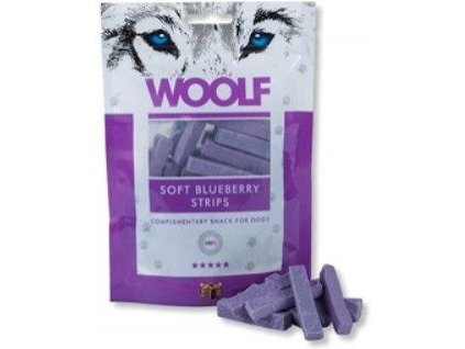 1437 woolf pochoutka soft blueberry strips 100g