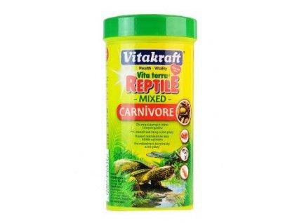 15255 vitakraft reptile turtle carnivor masozr plazi 250ml