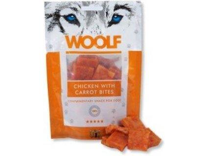 2082 woolf pochoutka chicken with carrot bites 100g