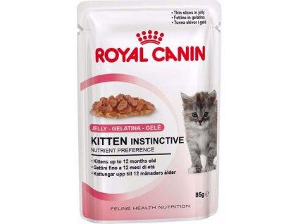 24594 royal canin feline kaps kitten inst v zele 85 g