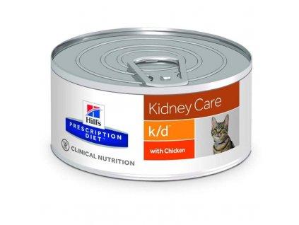 25941 hill s prescription diet feline k d konzerva hrube mleta 156 g
