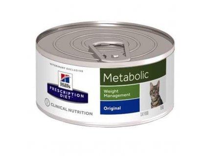 25953 hill s prescription diet feline metabolic konzerva 156 g