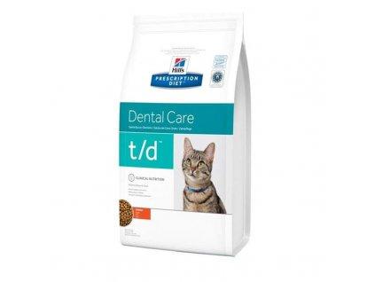 25977 hill s prescription diet feline t d dry 5 kg