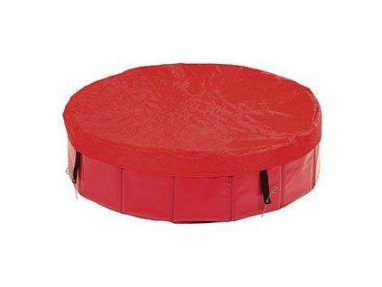 Plachta Na Bazén Červená (Karlie Plachta na bazén cervená 160cm -)