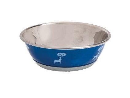 Miska Nerez Pes Selecta Motiv Modrá (Karlie-Flamingo Miska nerez Pes SELECTA motiv modrá 13cm 500ml -)