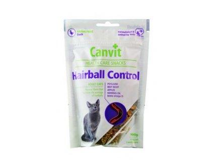 47865 canvit snacks cat hairball control 100g