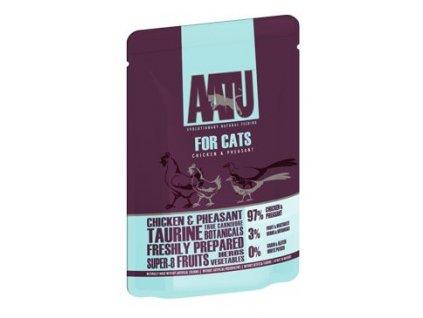 47982 aatu cat chicken n pheasant kaps 85g