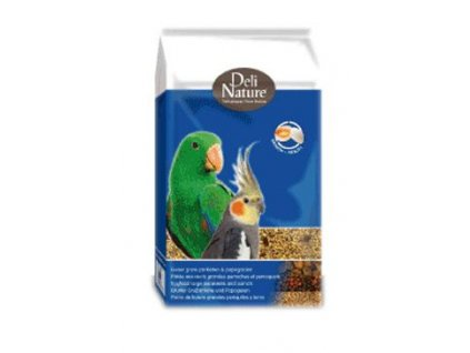59475 krmivo pro papousky deli nature eggparrots 10 kg