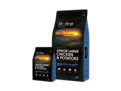 Profine NEW Dog Junior Large Chicken & Potatoes (Profine NEW Dog Junior Large Chicken & Potatoes 3 kg -)