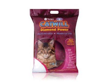 Podestýlka Catwill Diamond Power kocka pohlc. pach (Podestýlka Catwill Multi Cat pack 3,3kg (pův.7,6l) -)