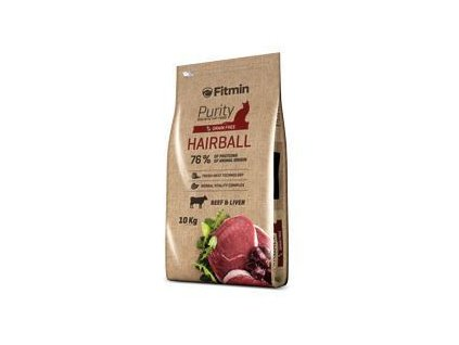 Fitmin Cat Purity Hairball (Fitmin Cat Purity Hairball 1.5kg -)