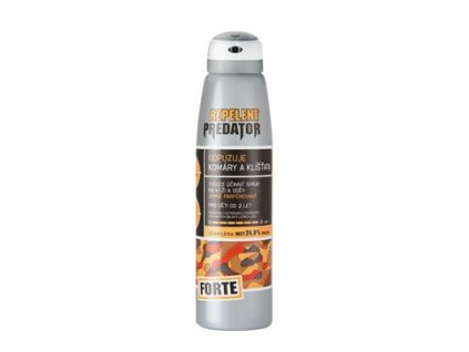7611 predator forte repelent spray 150ml 25 deet