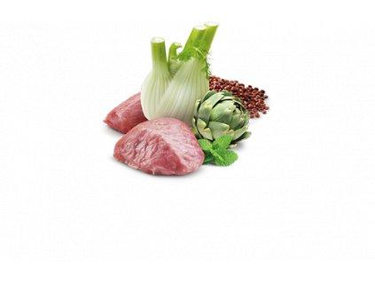 77670 n d cat quinoa adult digestion lamb fennel 80g 80g zdarma