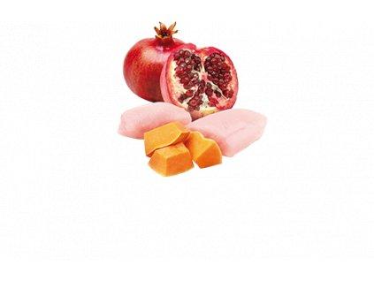 77745 n d cat pumpkin adult chicken pomegranate 80g 80g zdarma