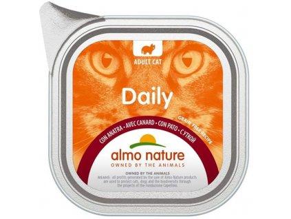 78585 almo nature daily menu cat van kachna 100g