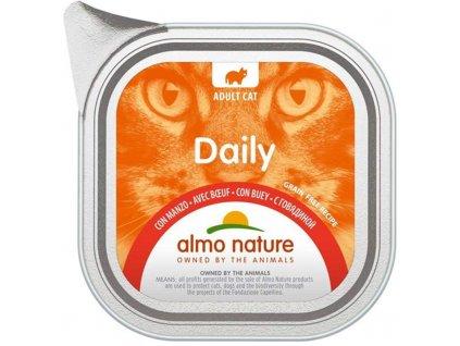 78591 almo nature daily menu cat van hovezi 100g