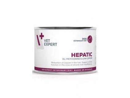 79398 vetexpert vd 4t hepatic dog konzerva met 200g