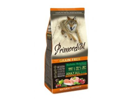 Primordial GF Adult Chicken Salmon (Primordial GF Adult Chicken Salmon 12kg -)
