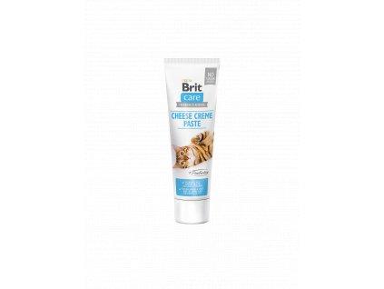 83787 brit care cat paste cheese creme with prebiotics 100g