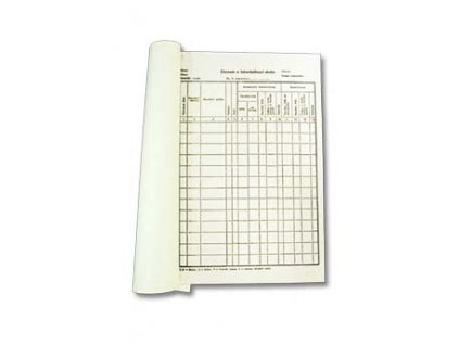 8505 tiskopis zaznam o tbc skotu 100listu 1ks