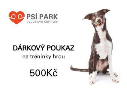 90051 darkovy poukaz psipark 500kc 1ks