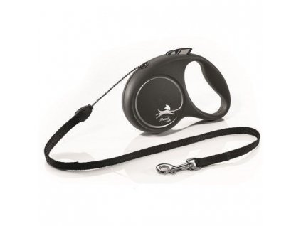 Vodítko FLEXI Black Design XS lanko (Vodítko FLEXI Black Design XS lanko 3m/8kg modrá NEW -)