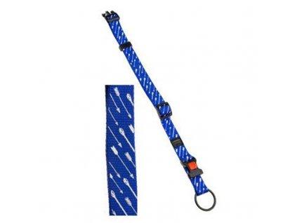95925 obojek nylon art sportiv 20 35 10mm modra sipka kar