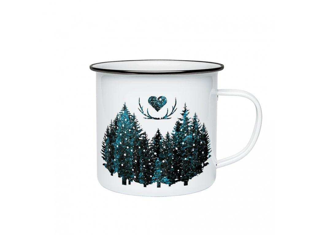 Miluju les zima