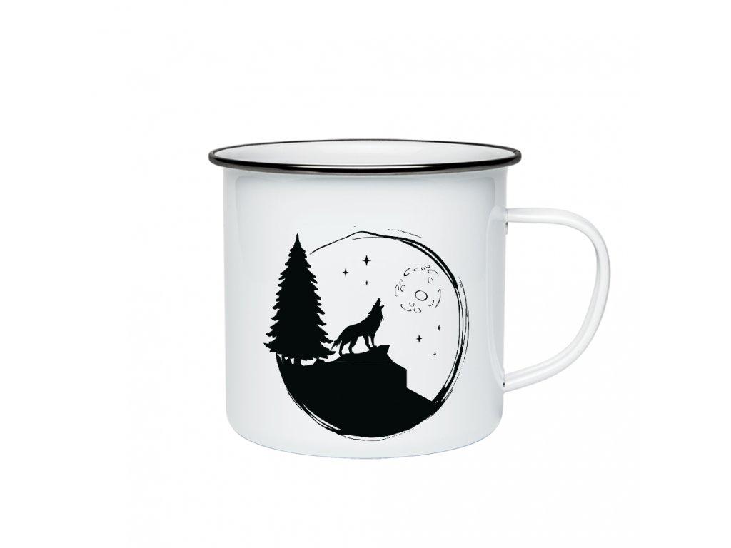 vlk vyje na měsíc