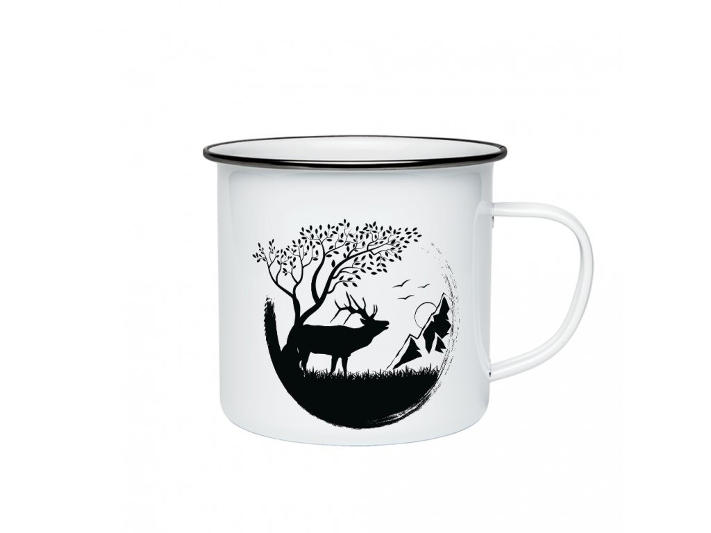 jelen v krajině