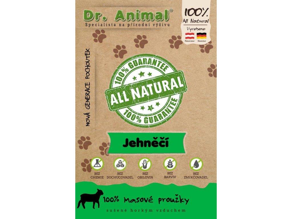 Dr. Animal - jehněčí proužky 80g