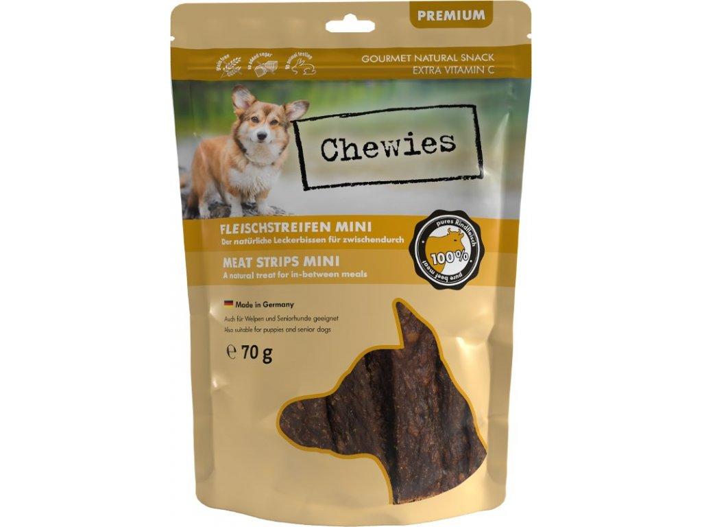 Chewies 100% hovězí maso Mini 70g