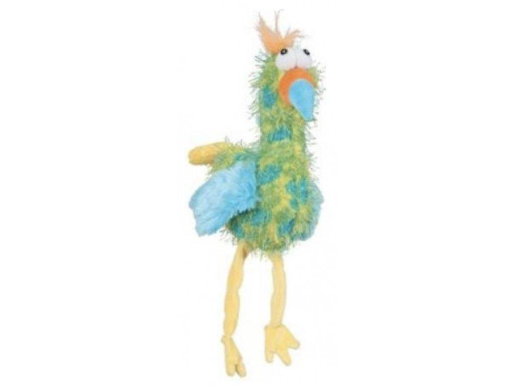 ptak Rock 35cm zelena